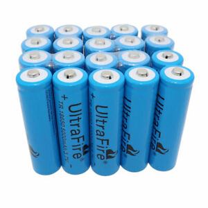 20X-18650-3-7V-5000mAh-Li-ion-Rechargeable-Battery-For-Flashlight-Torch-Laser