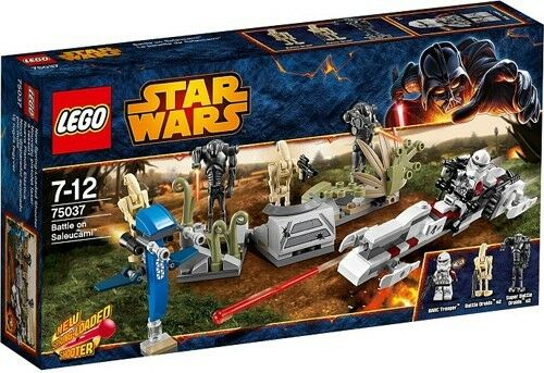 LEGO Star Wars 75037 Battle on Saleucami Set New In Box Sealed  75037
