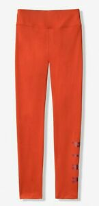 NWT-PINK-VS-VICTORIA-039-S-SECRET-LINED-LEGGINGS-CINABAR-ORANGE-XSMALL-FREE-SHIPPING