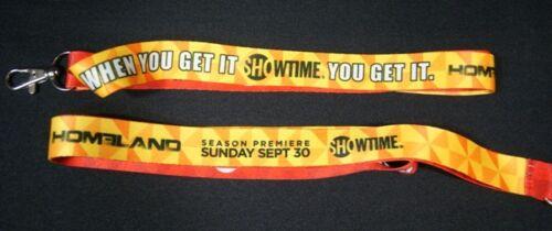 SDCC Comic Con 2012 EXCLUSIVE Showtime DEXTAR HOMELAND Lanyard