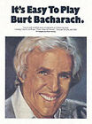 Its Easy to Play Burt Bacharach by Music Sales Ltd (Paperback, 1997)