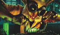 Yugioh Mtg Playmat Artists Of Magic: Goblin Engineer With Art By Scott Murphy