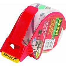 "6 Pk 3M Scotch 1.88/"" X 38.3 Yd Clear Box Sealing Tape W//Dispenser 3650S-RD"