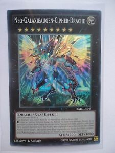 Neo-Galaxieaugen-Cipher-Drache RATE-DE049 Super Rare DE NM