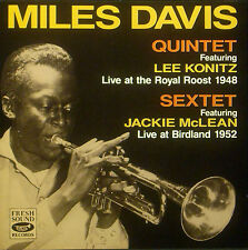 CD MILES DAVIS  - live royal roost 1948 / birdland 1952