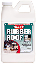 B.E.S.T. Rubber RV Roof Cleaner & Protectant Bottle - 48 oz. Maintenance Supply
