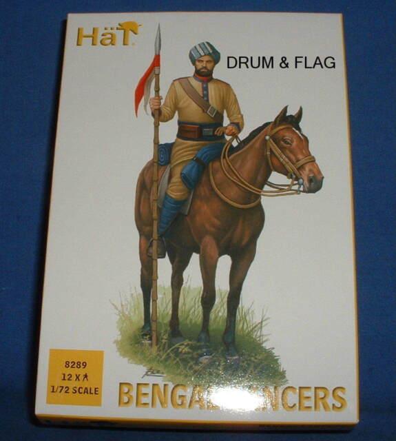HaT 8289 1//72 Colonial Bengal Lancers HäT