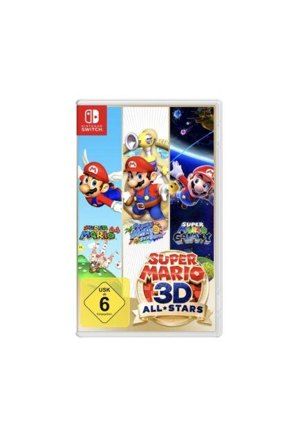 Super Mario 3D All-Stars für Nintendo Switch - NEU Verschweißt