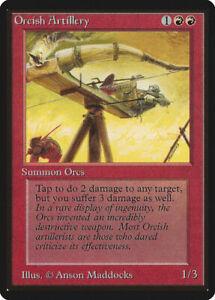 Orcish Artillery  - BETA Edition  - Old School - MTG Magic The Gathering