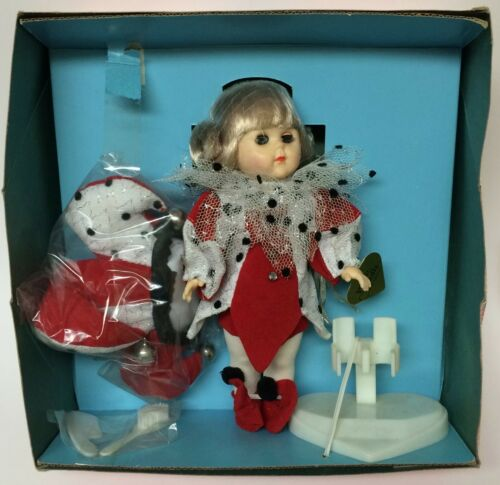 "Vintage 1988 Vogue America's Sweetheart Ginny Court Jester 8"" Poseable Doll"