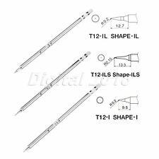 2Pcs T12-WD32 Series Solder Iron Tips For Hakko FX-9501 HAKKO912 Solder handle