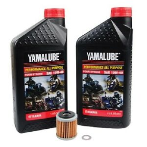 Oil Change Yamaha Yfz