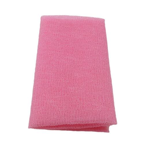 Nylon Bath Shower Exfoliating Body Washing Skin Cleaning Scrub Towel Tool O3