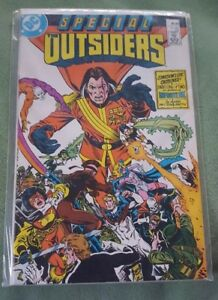The Outsiders Comic Book Special #1 DC Comics 1987 NEAR MINT NEW UNREAD