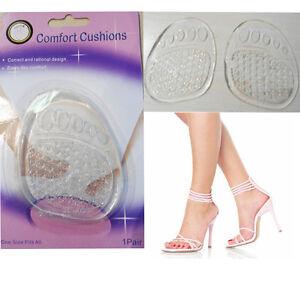 2-Shoe-Insole-Front-Heel-Gel-Pad-Insert-Cushion-Comfort-Pair-Foot-Care-Anti-Slip