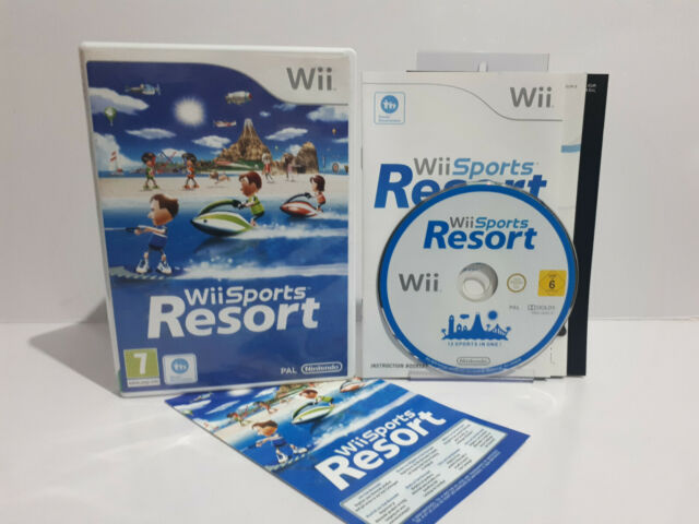 Wii Sports Resort (Wii, 2009) Pal complet NEUF de la marque Case disque Comme neuf 2920