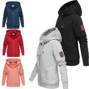 Marikoo-Damen-Kapuzenjacke-Langarm-Sweater-Kapuzenpullover-Sweatjacke-Tamikoo