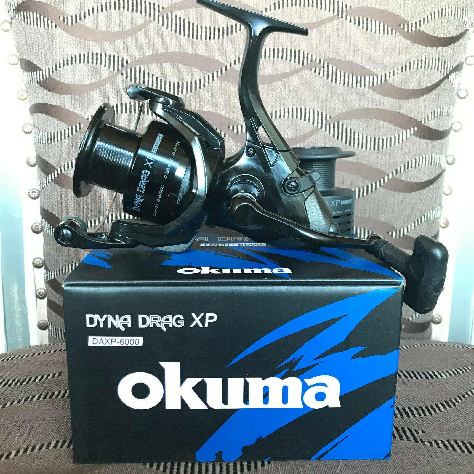 Okuma Dyna Drag XP Baitfeeder DAXP-6000 Rolle