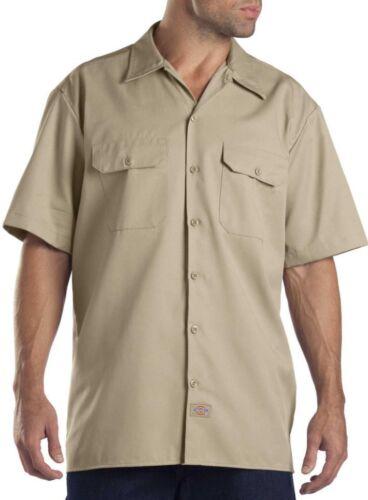 Shop Mechanics Short Sleeve Work Shirt Dickies Men/'s Size BIG or TALL 1574