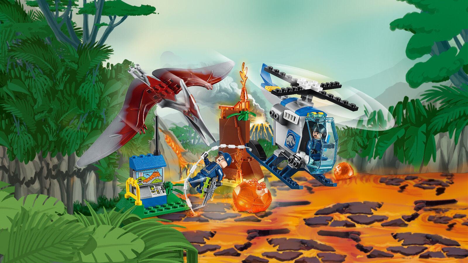 LEGO® Juniors 10756 10756 10756 Flucht vor dem Pteranodon & 10757 Raptoren Rettungstransport 3b6c74