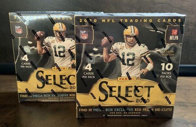 2020 panini select football mega box
