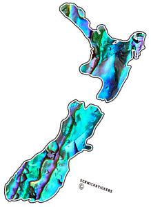 MAORI-AOTEAROA-PAUA-SHELL-EFFECT-NEW-ZEALAND-MAP-STICKER