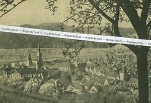 Gengenbach im Schwarzwald - Blick auf die Stadt um 1935         U 10-12