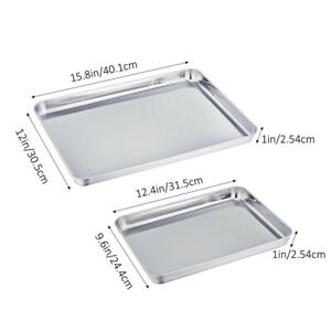 2Pcs-Baking-Sheet-Stainless-Steel-Baking-Pans-for-Toaster-Oven-Cookie-Baking