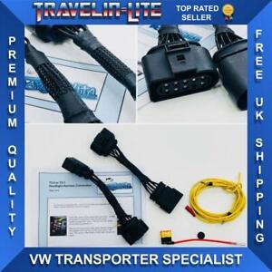Per-VW-T5-TRANSPORTER-T5-T5-1-Lifting-Luci-Anteriori-Conversione-Connettore-Cablaggio
