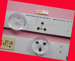 100Pcs 3228 SMD Lamp Beads 3V for Samsung LED TV Strip Repair Cool White Lamp