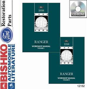 1998 ford ranger shop service repair manual cd engine. Black Bedroom Furniture Sets. Home Design Ideas