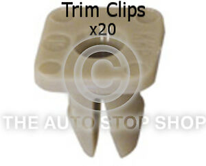 Panel Clip Trim Clips Seat Alhambra//Altea//Cordoba//Exeo etc 10 Pack Part 10308se