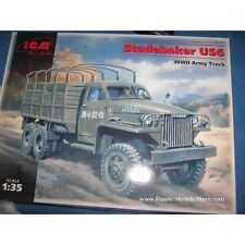 STUDEBAKER US6 WWII ARMY TRUCK 1/35 ICM 35511