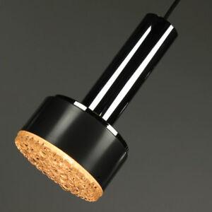 VTG-Staff-Pendel-Lampe-Modell-P-105-Glas-Chrom-Granate-60er-Jahre-2von2-vintage