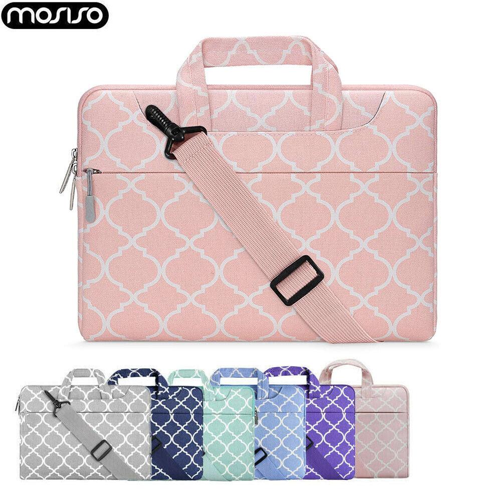 """Laptop Shoulder Messenger Bag Case For 11-15.6/"""" HP Dell Macbook Pro Air Lenovo"""