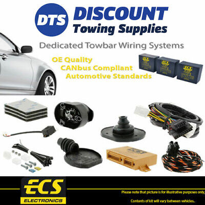 ECS 7 Pin Towbar Trailer Wiring Kit For BMW X5 SUV 2007-2013