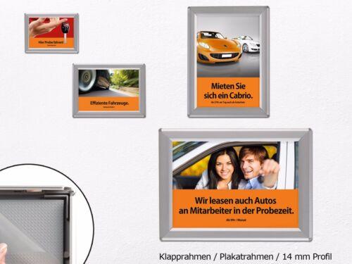 Wechselrahmen Werberahmen Alu Klapprahmen Plakatrahmen DIN A4Toppreis