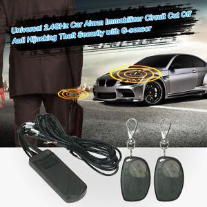 Car Alarm System RFID Immobilizer Cut Off Anti Hijacking Theft Security X3S6