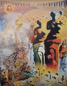 Salvador Dali: Stierkämpfer Halluzinogen - Lithografie Nummeriert &