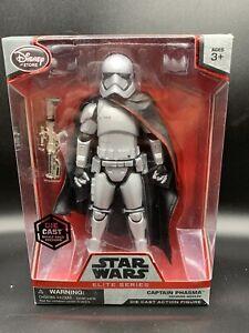 Disney-Store-Star-Wars-Elite-Series-Captain-Phasma-Die-Cast-Figure-New-Sealed