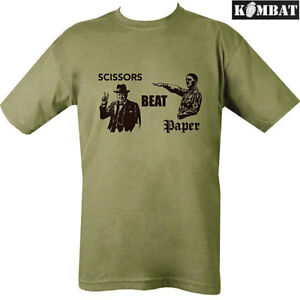 b799fe775 Image is loading Mens-Army-Military-Combat-Scissors-Beat-Paper-Cotton-