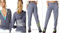 Zumba Fitness -2pc.set-hoodie-jacket & Light Sweat Pants,slimming-oh So Soft-s M