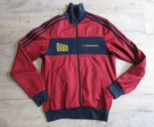 I Veste Adidas Bordeauxbleu Vintage Taille De Love Grand Barcelona SGzpMUqV