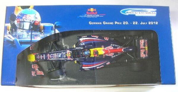 rojo Bull Racing nº 1 p. bruja Hockenheimring ShowCoche 2012