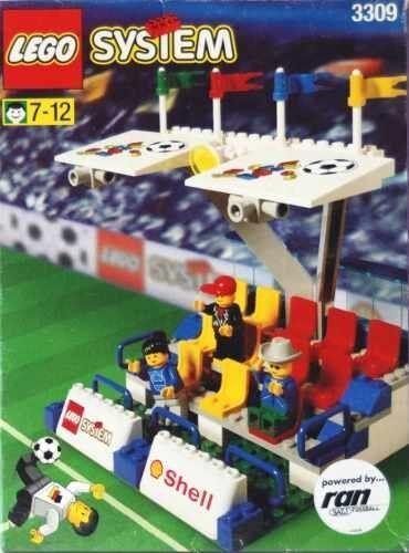 LEGO  ® système Football 3309 tribunes NEUF non ouvert RARE  préférentiel