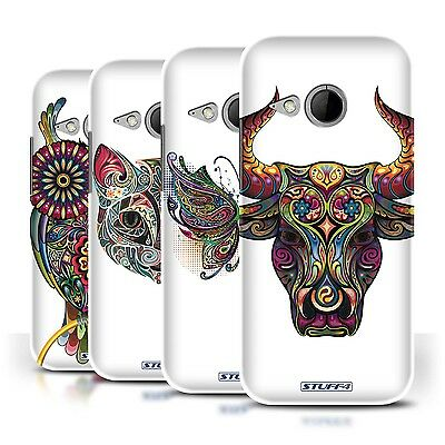 STUFF4 Phone Case/Back Cover for HTC One/1 Mini 2 /Ornamental Animals