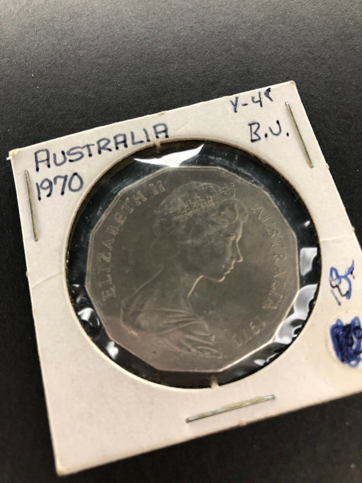 Australia 50 Cents 1970 Gem BU 50c Captain James Cook Botany Bay April 1770.