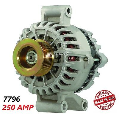 300 Amp Heavy Duty High Output  NEW Alternator Ford Excursion F Series p//up