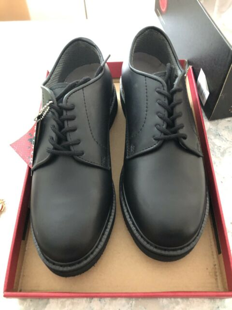 Mens 7 R Rothco Black Leather Oxford Military Uniform Dress Shoes 5085 for  sale online | eBay
