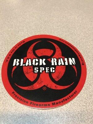 "BLACK RAIN SPEC GUN AND FIREARM STICKER DECAL ""PLUS EXTRA BONUS!"""